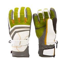 Leki Fuse Retro S Gloves, Lime-White-Graphite-Corn, 256