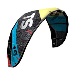 Best TS V4 Light Wind Kiteboarding Kite, Lemon-Ocean, 256