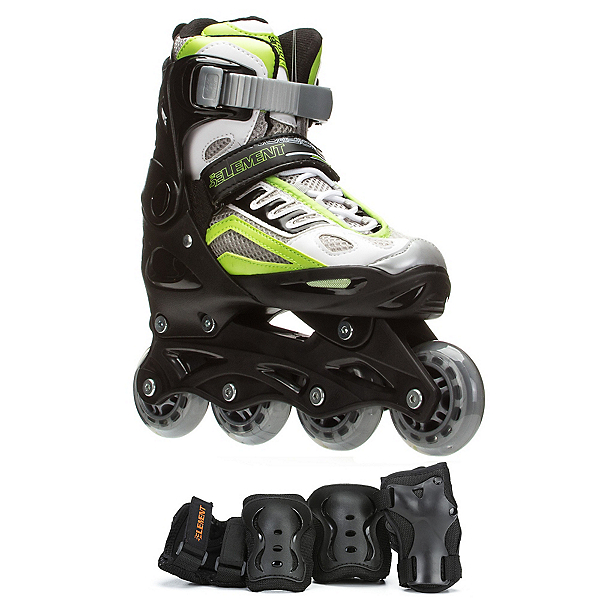 5th Element B2-100 Adjustable Boys Skates with Pads, , 600