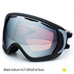 Oakley Canopy Prizm Goggles 2018, Matte Black-Prizm Black Iridium, 256