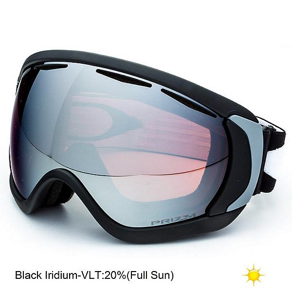 Oakley Canopy Prizm Goggles 2018, Matte Black-Prizm Black Iridium, 600