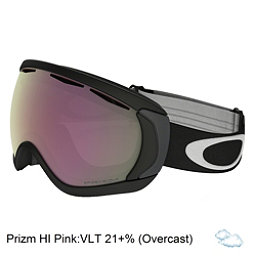 Oakley Canopy Prizm Goggles, Matte Black-Prizm Hi Pink, 256