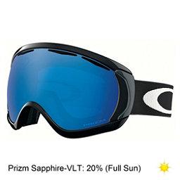 Oakley Canopy Prizm Goggles, Matte Black-Prizm Sapphire, 256