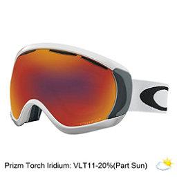Oakley Canopy Prizm Goggles, Matte White-Prizm Torch, 256