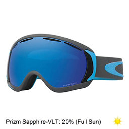 Oakley Canopy Prizm Goggles 2018, Iron Sapphire-Prizm Sapphire Iridium, 256