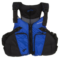 Stohlquist Coaster Adult Kayak Life Jacket, Royal Blue-Black, 256