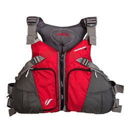 Stohlquist Coaster Adult Kayak Life Jacket, Red-Gray, 256