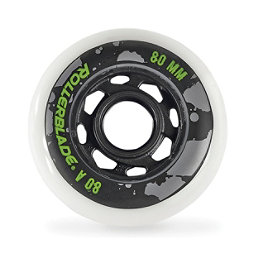 Rollerblade 80mm-80A Urban Inline Skate Wheels - 8pack 2018, , 256