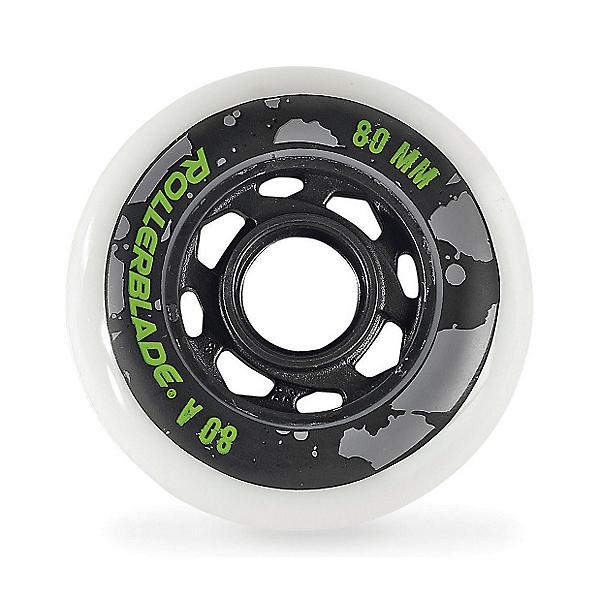 Rollerblade 80mm-80A Urban Inline Skate Wheels - 8pack 2018, , 600