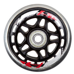 Rollerblade 80mm 82A Inline Skate Wheels With SG7 Bearings