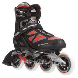 Rollerblade Macroblade 90 Inline Skates, Black-Red, 256