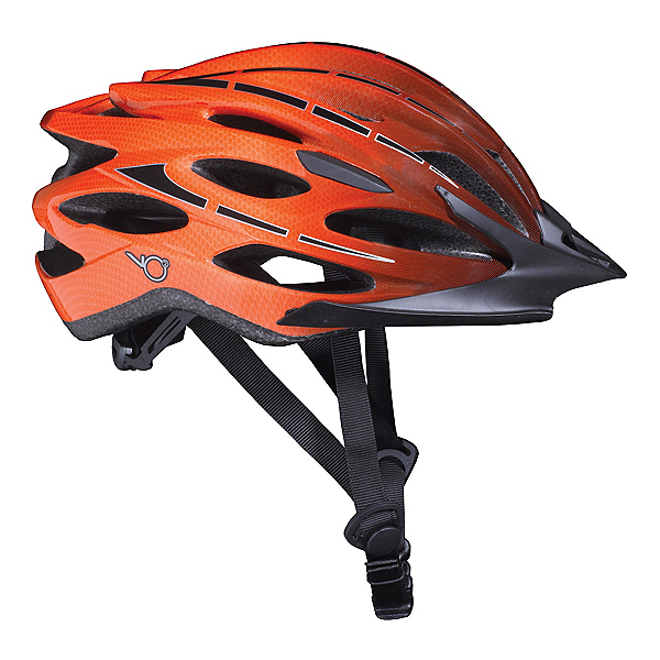 K2 VO2 Max Mens Skate Helmet, Black-Orange, 600