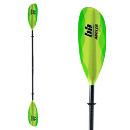 Bending Branches Angler Pro Adjustable Kayak Paddle 2017, Sea Green, 256