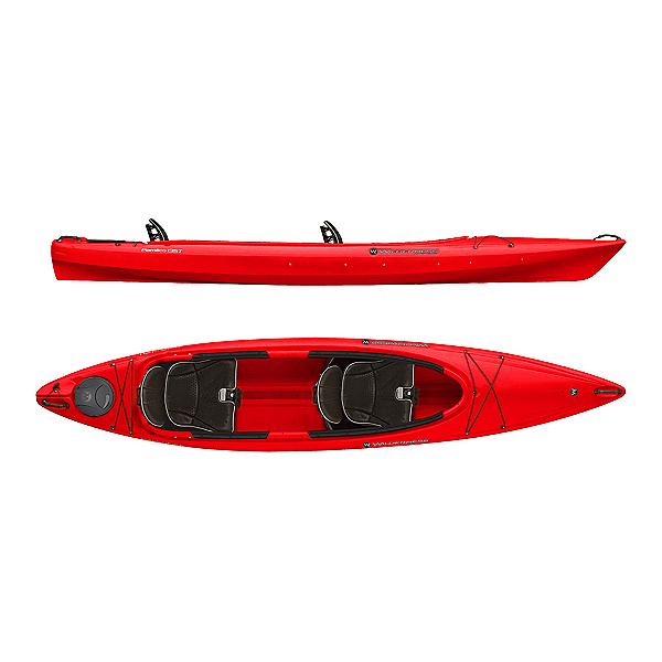 Wilderness Systems Pamlico 135T Tandem Kayak 2019, Red, 600