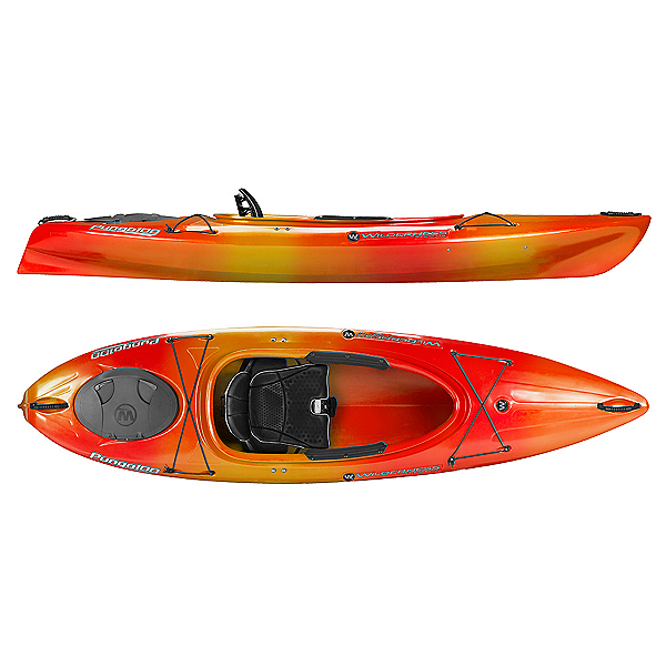 Wilderness Systems Pungo 100 Kayak 2018, Mango, 600