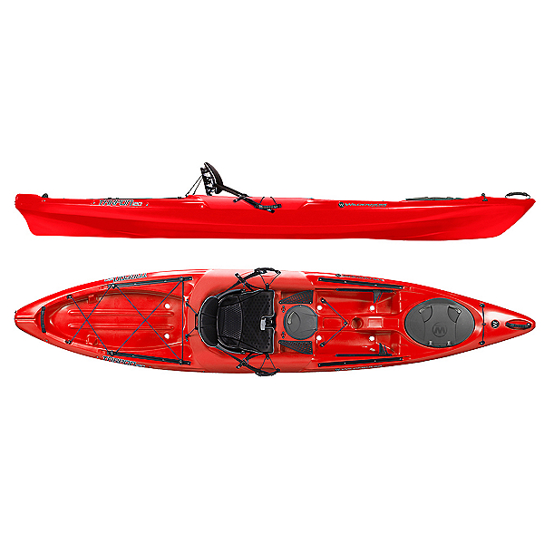 Wilderness Systems Tarpon 120 Sit On Top Kayak, Red, 600