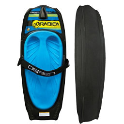 O'Brien Radica Kneeboard 2018, Black-Blue, 256