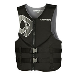 O'Brien Traditional Neoprene Adult Life Vest 2017, Black, 256