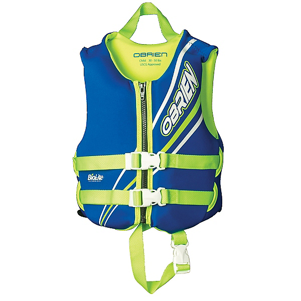 O'Brien Blue Toddler Life Vest 2018, , 600