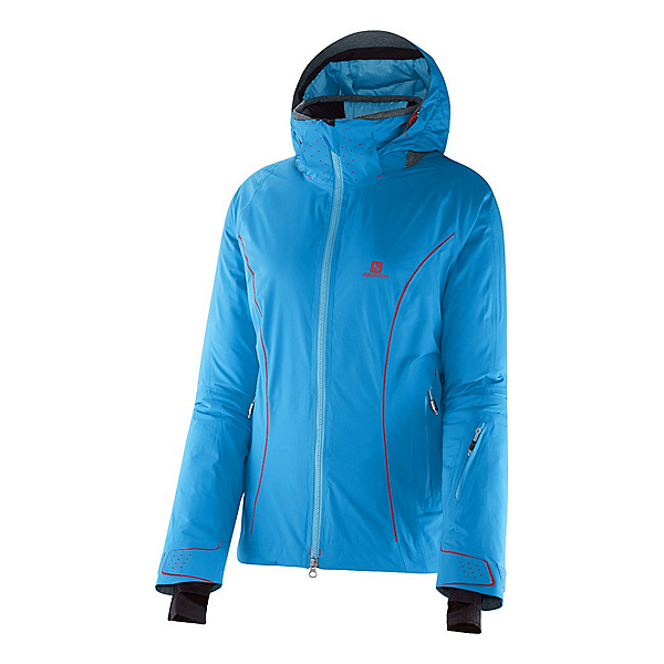 Salomon Whitemount GTX MF Womens Insulated Ski Jacket, , 600