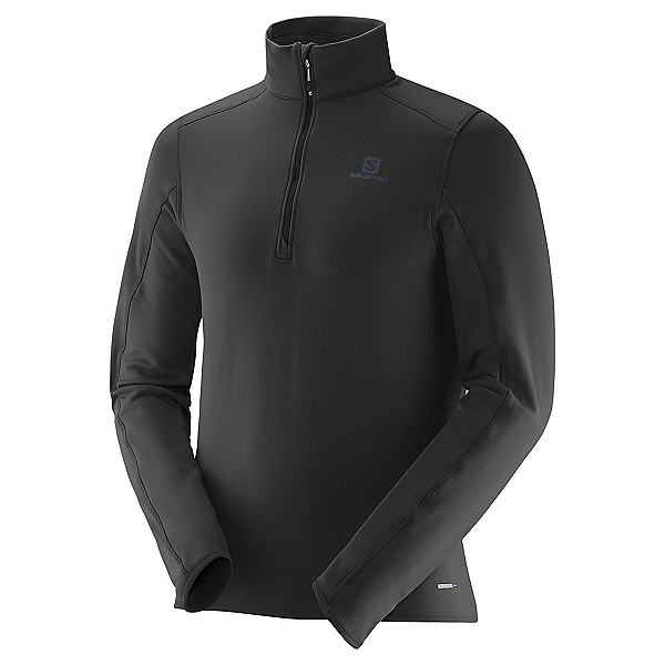 Salomon Minim Half Zip Mens Mid Layer, , 600