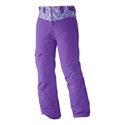 Salomon Sashay Girls Ski Pants, Little Violette, 256
