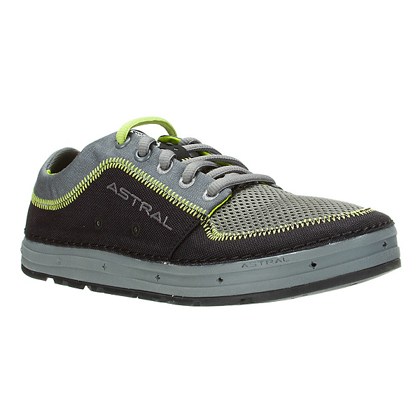 Astral Brewer Mens Watershoes, Black-Lime, 600
