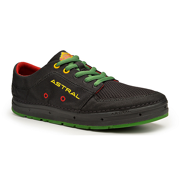 Astral Brewer Mens Watershoes, Rasta Black, 600