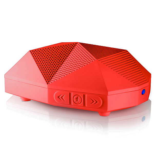 Outdoor Tech Turtle Shell 2.0 Wireless Bluetooth Speakers, Red, 600