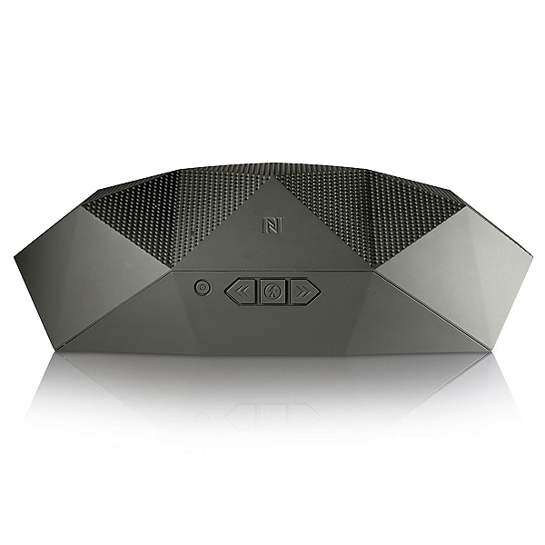 Outdoor Tech Big Turtle Shell Portable Speaker, Gray, 600