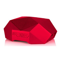 Outdoor Tech Big Turtle Shell Portable Speaker, Red, 256