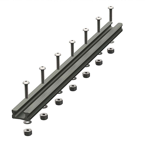 YakAttack GearTrac Aluminum Mounting Track - 12 in. 2017, , 600