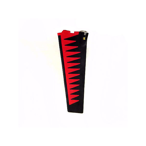 Hobie Mirage Turbo Fin Replacement, Red-Black, 600