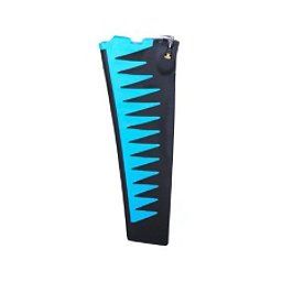 Hobie Mirage Turbo Fin Replacement, Blue-Black, 256