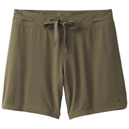Prana Silvana Womens Board Shorts, Cargo Green, 256