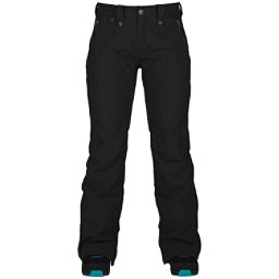 Bonfire Heavenly Womens Snowboard Pants, Black, 256