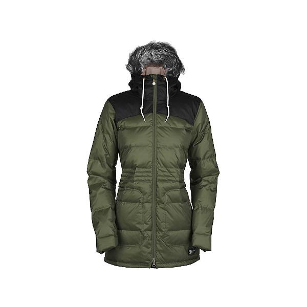 Bonfire Halifax w/Faux Fur Womens Insulated Snowboard Jacket, , 600