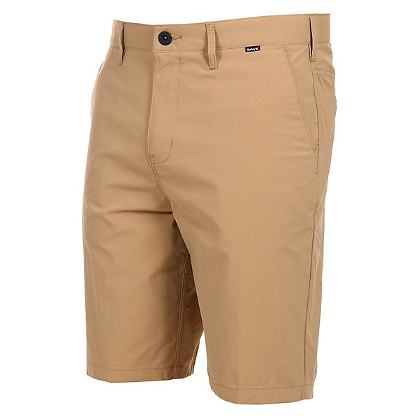Hurley Dri-Fit Chino 22 Inch Mens Hybrid Shorts, Khaki, 600