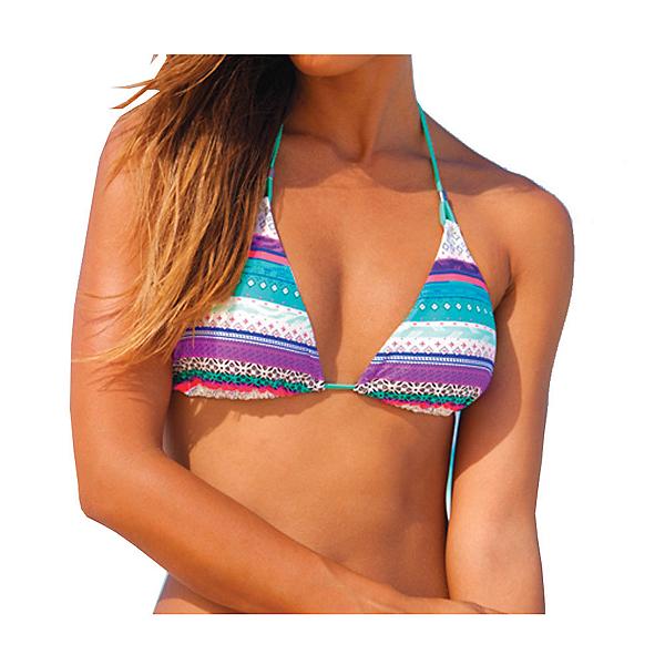 Body Glove Splice Of Life Oasis Slider Bathing Suit Top, Lagoon, 600