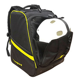Transpack Boot Vault Pro Ski Boot Bag, Black-Yellow Electric, 256