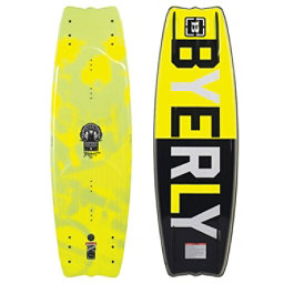 Byerly Blunt Wakeboard, Yellow, 256
