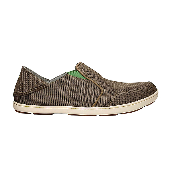 OluKai Nohea Mesh Mens Shoes, Mustang-Lime Peel, 600