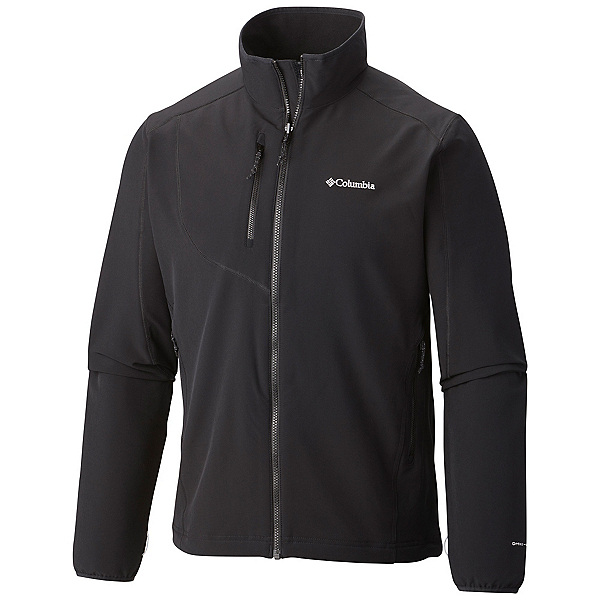 Columbia EVAP-Change Mens Soft Shell Jacket, Black, 600
