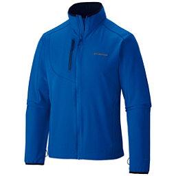 Columbia EVAP-Change Mens Soft Shell Jacket, Hyper Blue-Collegiate Navy, 256