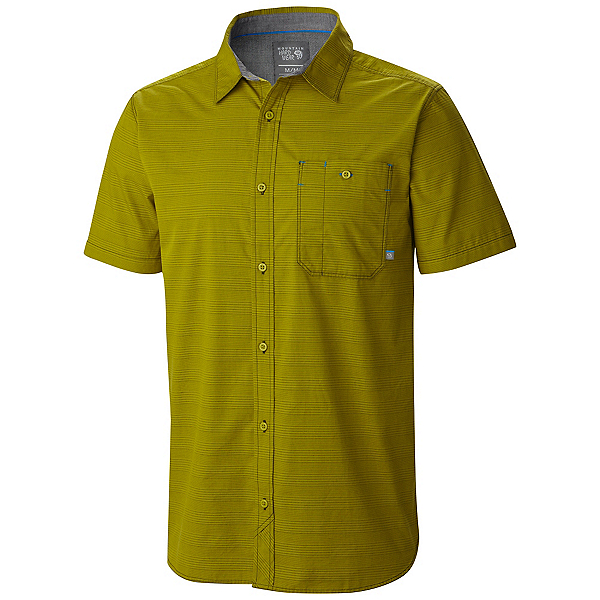 Mountain Hardwear Kotter Stripe Short Sleeve Mens Shirt, , 600