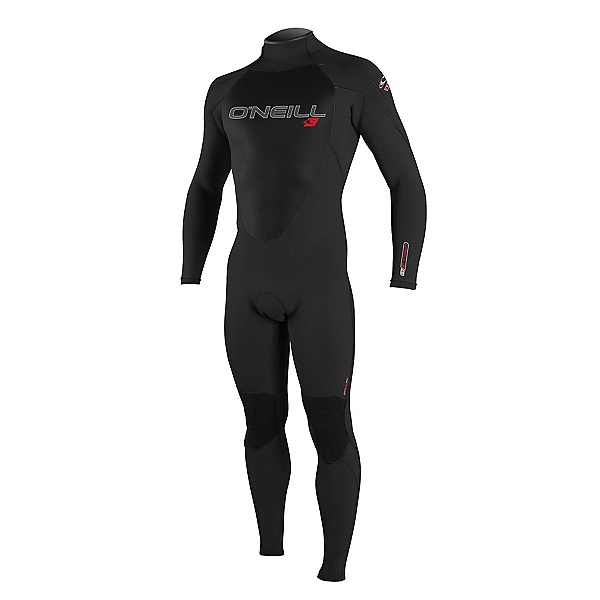 O'Neill Epic 3/2mm Full Full Wetsuit 2019, Black-Black-Black, 600