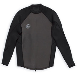 O'Neill O'riginal 2/1 Jacket Wetsuit Top 2018, Black-Black-Black, 256