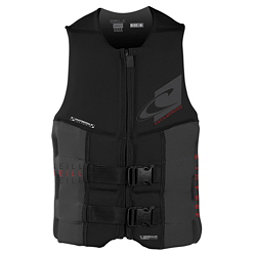O'Neill Assault LS USCG Adult Life Vest 2018, Black-Graphite, 256