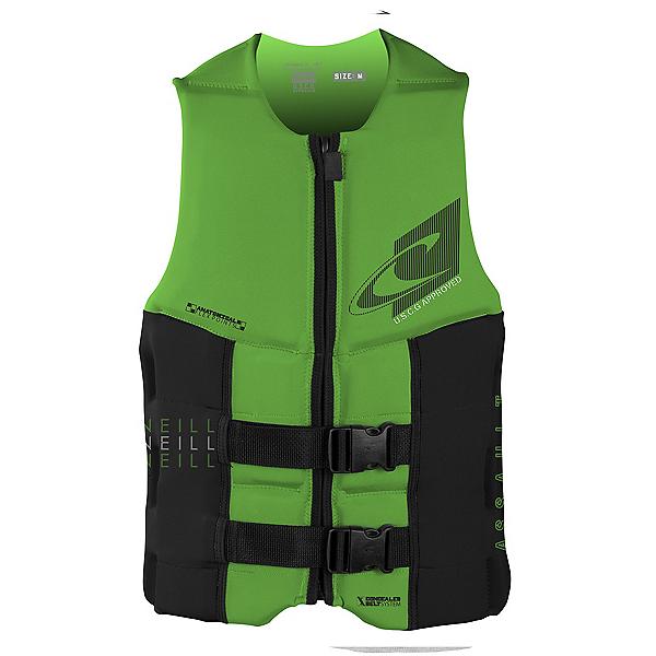 O'Neill Assault LS USCG Adult Life Vest 2020, Dayglo-Black, 600
