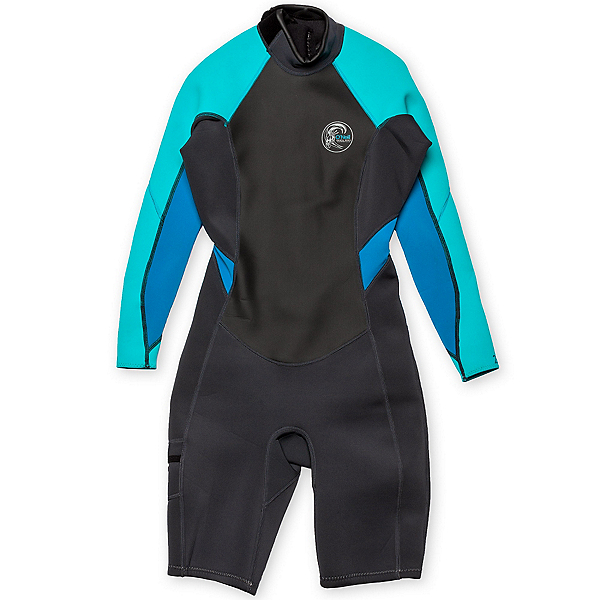 O'Neill Bahia Long Sleeve Spring Womens Shorty Wetsuit 2016, , 600